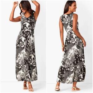 Talbots Women's Floral Maxi Dress Size XLP
